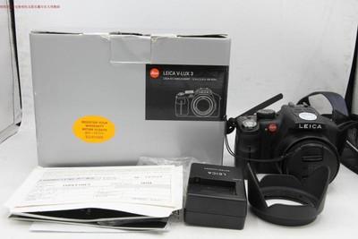 新到 95成新 Leica/徕卡 V-LUX3 24倍变焦 包装配件全 编号9647