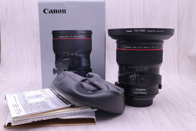 佳能 TS-E 24mm f/3.5L II 移轴镜头 24/3.5L 镜头