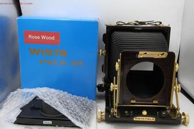 维斯塔 WISTA 4X5 木质双轨座机 紫檀木 还在保 编号9600 9601