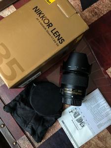 98 尼康 AF-S 尼克尔 35mm f/1.8G ED