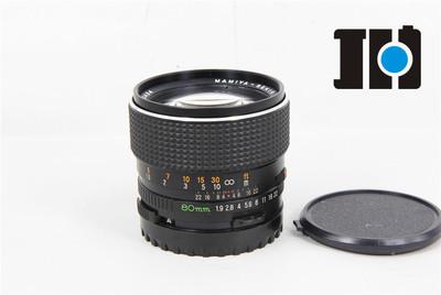 Mamiya玛米亚 80/1.9 C 大光圈中画幅镜头,手动对焦,实体现货.