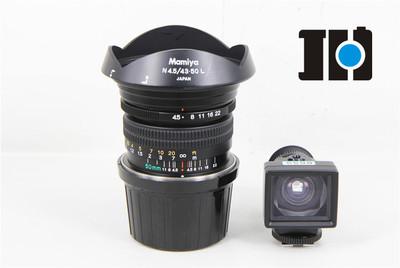 Mamiya玛米亚 N 50/4.5L 7II/7型中幅相机镜头 带取景器 实体现货
