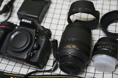 99新自用 尼康D7100/50 1.8D/18-105ED VR套机