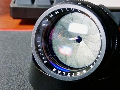 Leitz Wetzlar Summilux 50 mm f/ 1.4 (II)