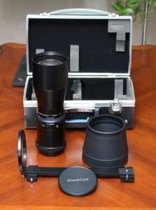 Mamiya RZ67  用 500MM 镜头