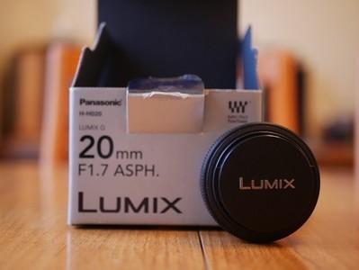 香港行货松下 G 20mm f/1.7 ASPH