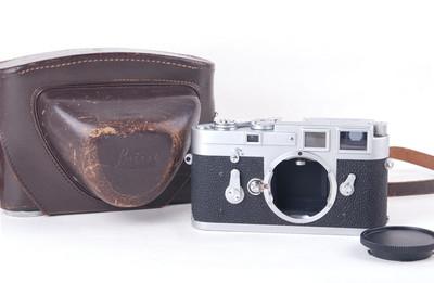徕卡 M3 单拨103号段1961年 带原厂皮套 #jp19756