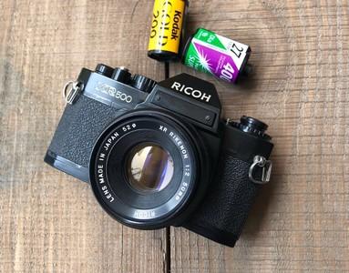 理光  XR500+50/2镜头单反相机