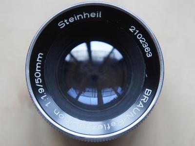 斯坦海尔 Steinheil Braun-Reflex-Quinon 50/1.9 DKL