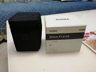 适马 35mm f/1.4 佳能口