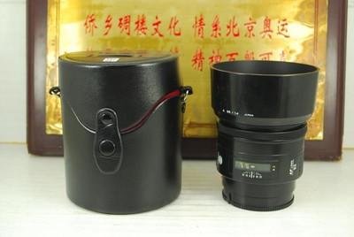 97新 索尼a口 美能达 85mm F1.4 AF 单反镜头 大光圈定焦人像