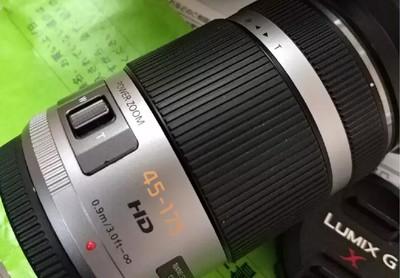 松下x45-175 m43微单电动变焦镜头 非常新 包邮