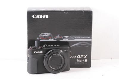 99/佳能 PowerShot G7 X Mark II 2代 数码相机(全套包装)