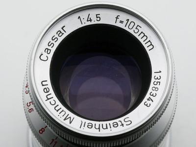 出斯坦海尔中焦镜头银版 Steinheil Cassar VL 105mm F4.5