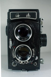 海鸥 4B-1照相机(裂屏)【384元】