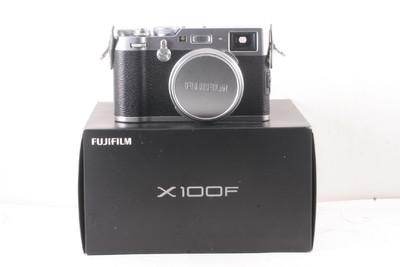 98/富士 X100F 经典复古旁轴数码相机 极新净 ( 全套包装 )