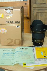锐意购买,尼康 AF-S 尼克尔 20mm f/1.8G ED。