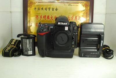 尼康 D3 全画幅机皇 数码单反相机 全金属专业高端机型 千万像素