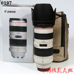 佳能 EF 70-200mm f/2.8L USM(小白) 单反镜头 0197