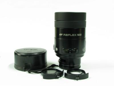 美能达(Minolta)AF500F8反射镜头97新
