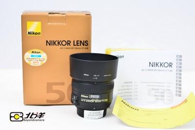 尼康 AF-S 50/1.4 G行货带包装(BH06100006)【已成交】