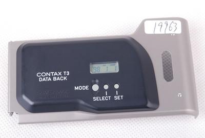 【美品】康泰时T3用数据后背Data Back#jp19963