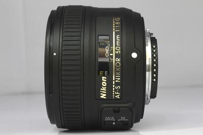【全画幅标准定焦镜头】尼康 AF-S 50/1.8G(NO:1461)*