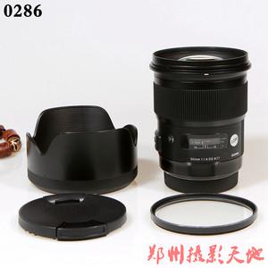 适马 50mm f/1.4 art 版 佳能口单反镜头 0286