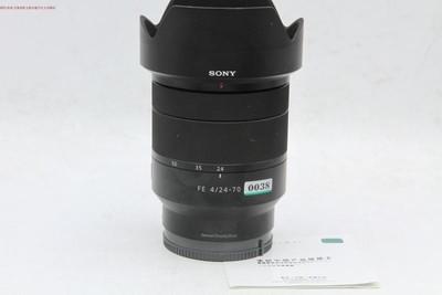 新到 95成新 索尼 FE 24-70 4 蔡司镜头 带保卡 可交换 编号0038