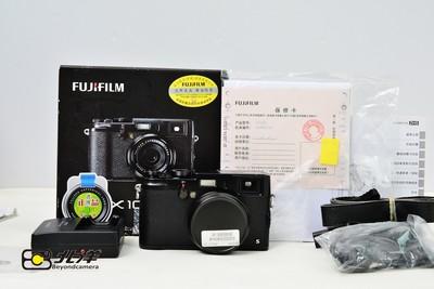 95新 富士 X100s黑色版行货带包装(BH06020003)