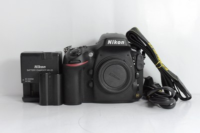 95新二手Nikon尼康 D800E 单机 快门23188次(T000569)亚