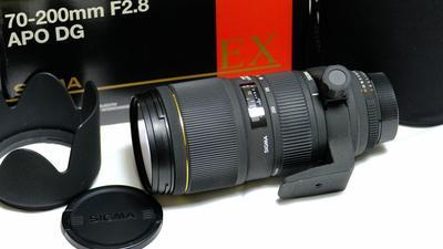 适马 APO 70-200mm f/2.8 EX DG/HSM  (价格可议)