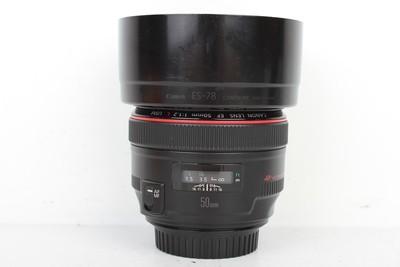 96新二手 Canon佳能 50/1.2 L USM 定焦镜头(B97147)京