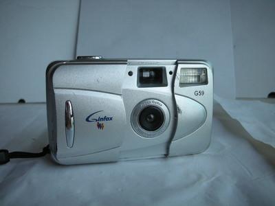 较新GINFAX--G59袖珍相机