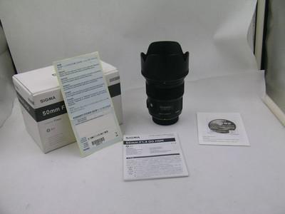 出售 99新 适马 50mm f/1.4 ART 尼康口 包装齐全 请看图片