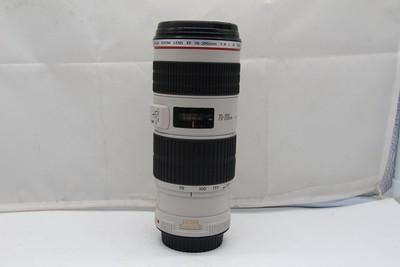 90新二手 Canon佳能 70-200/4 L IS USM小小白(SZ00711)京