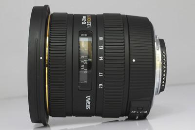 适马10-20/3.5 EX DC HSM(尼康卡口)(NO:3421)