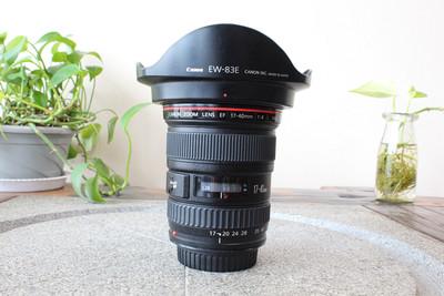 96新二手 Canon佳能 17-40/4 L USM 广角镜头(W05401)武