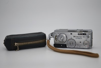 日本Mamiya 16 Automatic 袖珍胶片相机