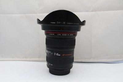 95新二手 Canon佳能 17-40/4 L USM 广角镜头(SZ00708)深