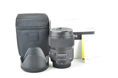 98新 适马 35mm f/1.4 DG HSM(A)