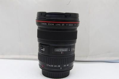 94新二手 Canon佳能 17-40/4 L USM 广角镜头(SZ00709)深