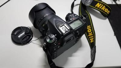 自用尼康 D7100 18-105套机