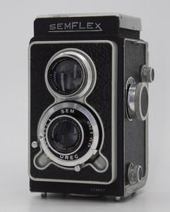 法国索姆 Semflex 中画幅双反相机