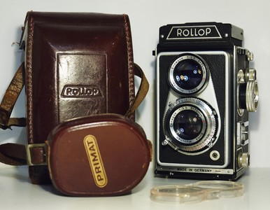 德国Lipca Rollop II 120胶片双反相机