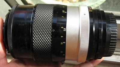 尼康Nikon nippon kogaku nikkor-Q auto 135 F2.8手动镜头