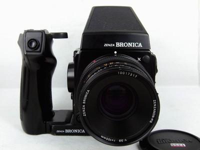 勃朗尼卡GS-1带50,100,200三只镜头