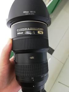 出一台成色非常好的尼康 AF-S尼克尔16-35mm f/4G ED VR