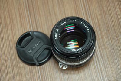 AI 50mm/F1.4 MF手动镜头