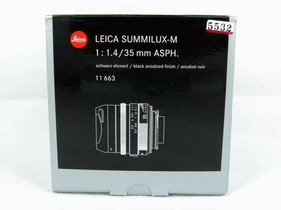 华瑞千亿国际娱乐官网首页器材-徕卡Leica Summilux-M 35/1.4 Asph 11663